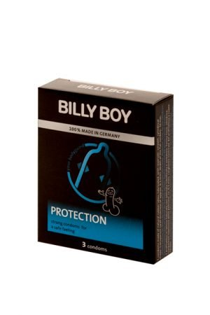 "Preservativos BILLY BOY FUN ""PROTECTION"" 3 UDS"