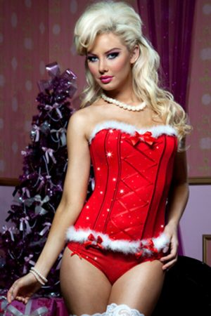 Vestido de Santa Claus JINGLE BUSTIER PANTY