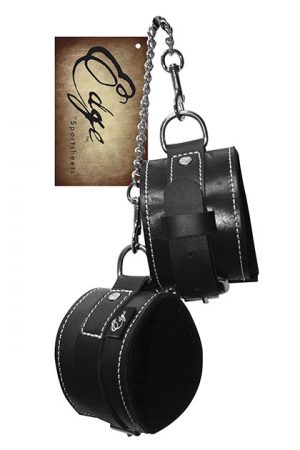 Esposas BDSM EDGE LEATHER WRIST